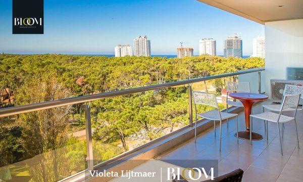 Moderno Apartamento,2 Dormitorios, Be Punta.